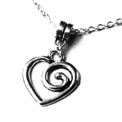 Submissive day collar Steampunk BDSM jewelry heart necklace