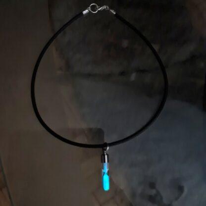 Стимпанк БДСМ неоновый ошейник хиппи одежда подвеска чокер рейв неон