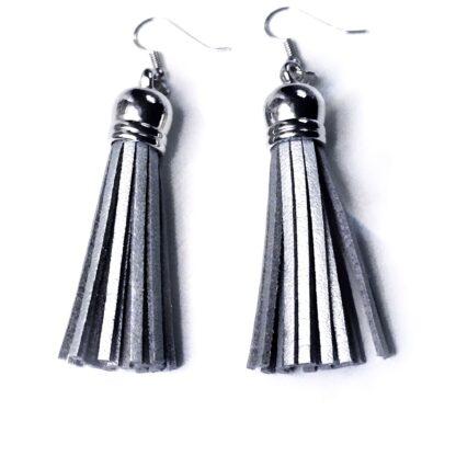 Steampunk BDSM jewelry fringe earrings bondage submissive domina