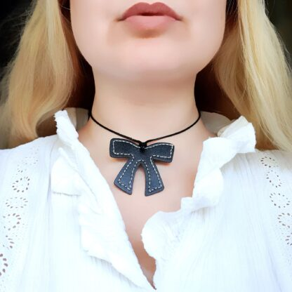 Steampunk BDSM jewelry submissive day collar necklace dominant fetish