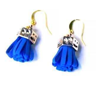 Steampunk BDSM jewelry fringe earrings