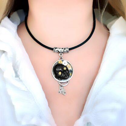 Steampunk BDSM jewelry cyberpunk collar industrial necklace mad max robot
