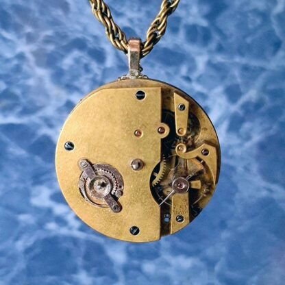Steampunk BDSM jewelry cyberpunk robot necklace