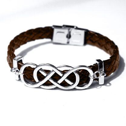 Submissive dominant Steampunk BDSM jewelry bracelet shibari rope