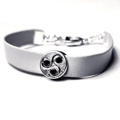 Стимпанк БДСМ украшения символ трискель браслет