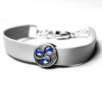 Steamunk BDSM bracelet with lock