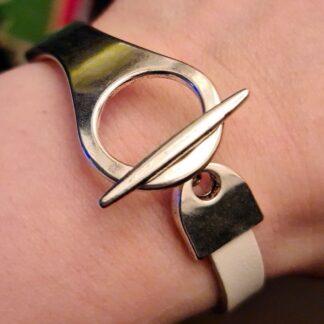 Стимпанк БДСМ украшения браслет на замке наручники доминант рабыня