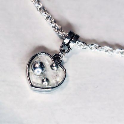 Стимпанк БДСМ украшения подвеска сердце сабмиссив дневной ошейник рабынии